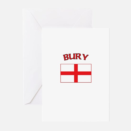 Bury, England Greeting Cards (Pk of 10)