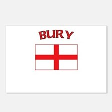 Bury, England Postcards (Package of 8)