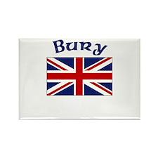 Bury, England Rectangle Magnet