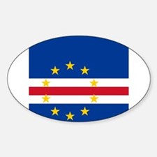 Flag of Cape Verde island country Decal