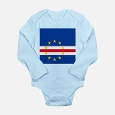 Flag of Cape Verde island country Body Suit