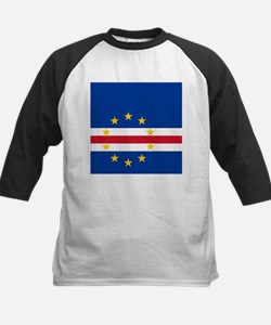Flag of Cape Verde island country Baseball Jersey