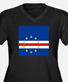 Flag of Cape Verde island country Plus Size T-Shir