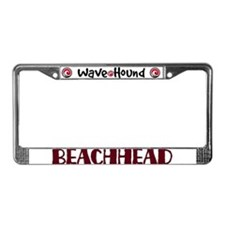 Beachhead License Plate Frame