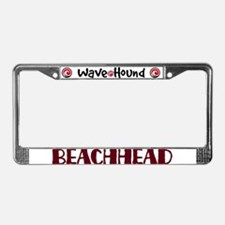 Beachhead License Plate Frame