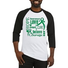 Liver Cancer Hope Baseball Jersey
