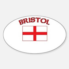 Bristol, England Oval Decal