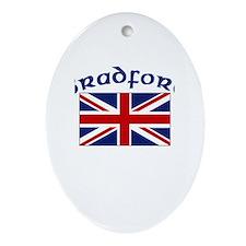 Bradford, England Oval Ornament