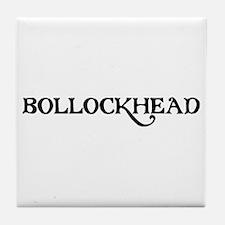 Bollockhead Tile Coaster