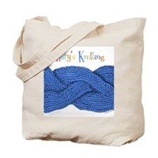 Mary's Knitting Tote Bag