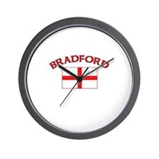 Bradford, England Wall Clock