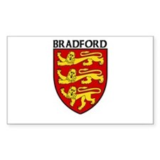Bradford, England Rectangle Decal