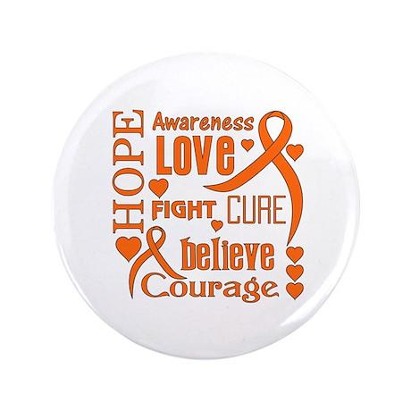 "Leukemia Hope 3.5"" Button"