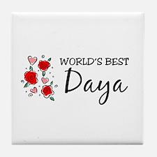 WB Mom [Kurdish] Tile Coaster