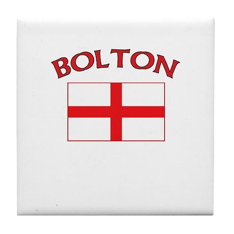 Bolton, England Tile Coaster