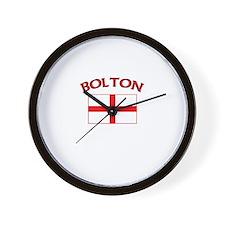 Bolton, England Wall Clock