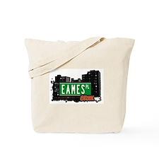 Eames Pl, Bronx, NYC Tote Bag