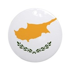 Flag of Cyprus Ornament (Round)