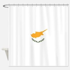 Flag of Cyprus Shower Curtain