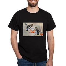 Cedar Waxwing Bird (Front) T-Shirt