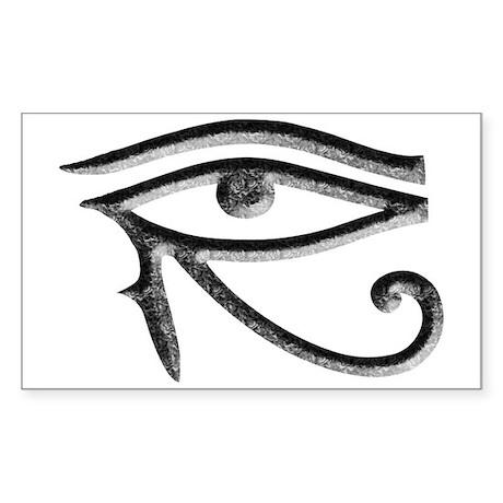 Wadjet - Eye of Horus/Ra Rectangle Sticker