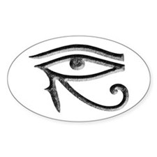 Wadjet - Eye of Horus/Ra Oval Decal