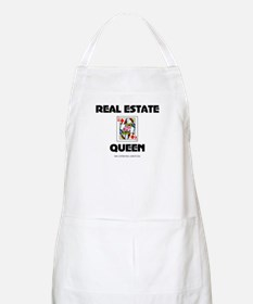 Real Estate Queen BBQ Apron