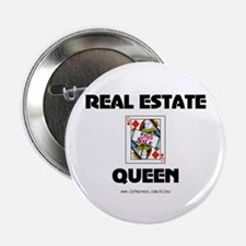 "Real Estate Queen 2.25"" Button (10 pack)"