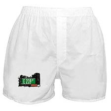 E 239 St, Bronx, NYC Boxer Shorts
