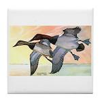 Canvasback Duck Tile Coaster