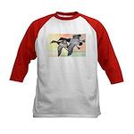 Canvasback Duck (Front) Kids Baseball Jersey