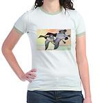 Canvasback Duck Jr. Ringer T-Shirt