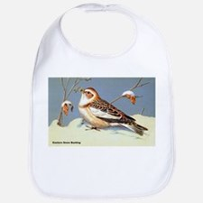 Eastern Snow Bunting Bird Bib
