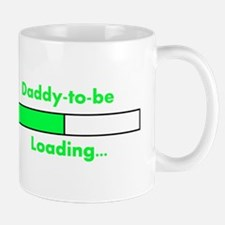 Daddy-to-be Loading... Mugs