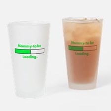 Mommy-to-be Loading... Drinking Glass