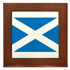Scotland Flag Framed Tile