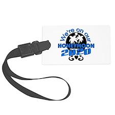 Tropical Honeymoon 2014 Large Luggage Tag