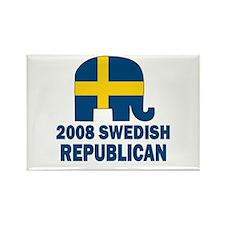 Swedish Republican Rectangle Magnet