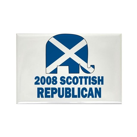 Scottish Republican Rectangle Magnet