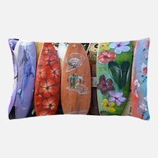 Hawaiian surfboards Pillow Case