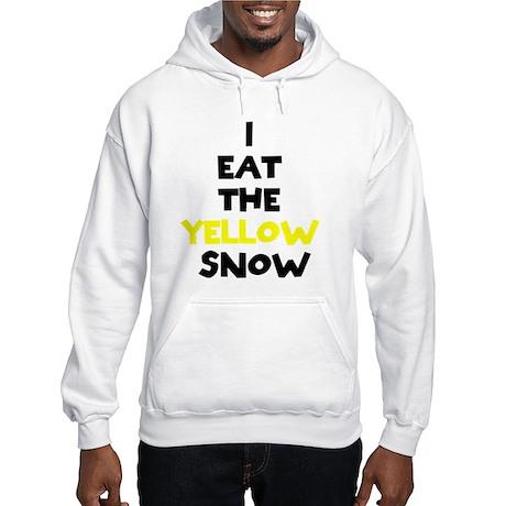 I Eat Yellow Snow Hooded Sweatshirt