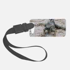 Tropical Iguana Luggage Tag