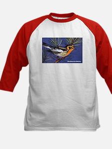 Blackburnian Warbler Bird (Front) Kids Baseball Je