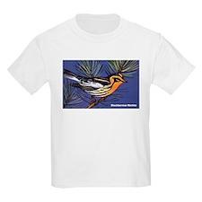 Blackburnian Warbler Bird T-Shirt