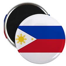 "Philippines Flag 2.25"" Magnet (100 pack)"