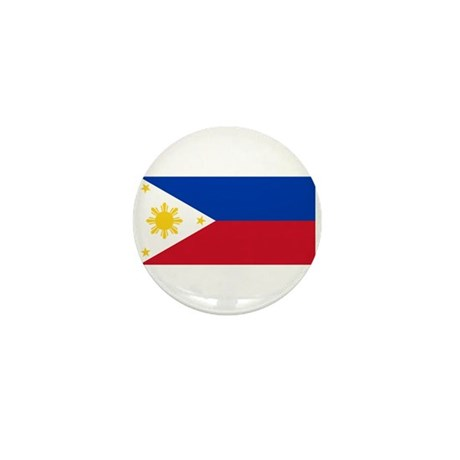 Philippines Flag Mini Button (100 pack)