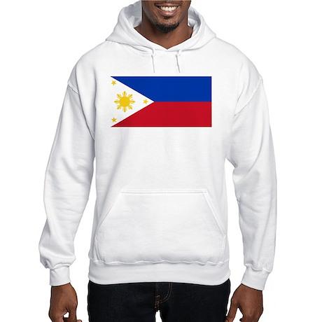 Philippines Flag Hooded Sweatshirt