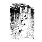 Rackham's Twelve Dancing Princesses Postcards (Pac