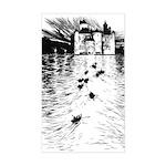 Rackham's Twelve Dancing Princesses Sticker (Recta