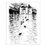 Rackham's Twelve Dancing Princesses Small Poster